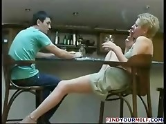 Russian MILF loves to swallow