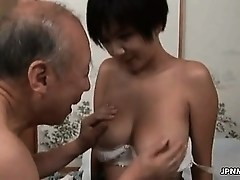 Hot asian whore gets horny part2