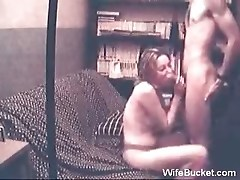 old sex tape for horny blonde wife
