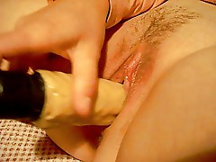 wife orgasm with my dick dildo