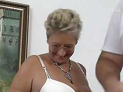 German mature Angie 52y
